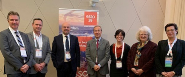 Dr. David Bartlett with SSO and ESSO leadership at the 39th ESSO Congress