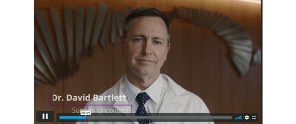 Dr  David Bartlett in Outreach Video | Department of Surgery