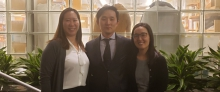 Drs. Melanie Ongchin, Andrew Lee, and Joanna Lee